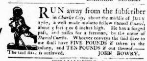 Sep 29 - Virginia Gazette Purdie and Dixon Slavery 2