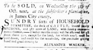 Sep 29 - Virginia Gazette Purdie and Dixon Slavery 8