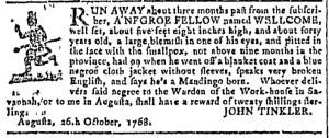 Nov 16 - Georgia Gazette Slavery 3