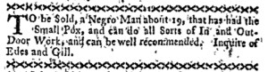 Nov 21 - Boston-Gazette Slavery 2