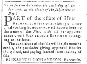 Nov 4 - South-Carolina and American General Gazette Slavery 3