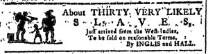 Nov 9 - Georgia Gazette Slavery 1
