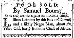 Oct 10 - Newport Mercury Slavery 1