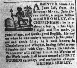 Oct 21 - South-Carolina and American General Gazette Slavery 6