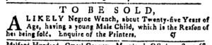 Oct 27 - Pennsylvania Gazette Postscript Slavery 2