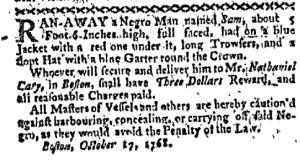 Oct 31 - Boston-Gazette Slavery 2