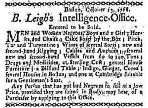 Oct 31 - Boston-Gazette Slavery 3