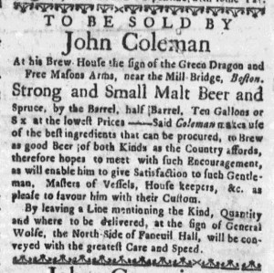 Oct 9 - 10:6:1768 Boston Weekly News-Letter