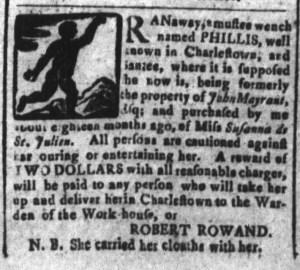 Dec 5 - South-Carolina and American General Gazette Slavery 4