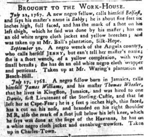 Nov 22 - 11:22:1768 South-Carolina Gazette and Country Journal Supplement