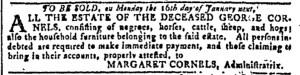 Nov 30 - Georgia Gazette Slavery 7
