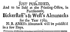 Dec 2 - 12:2:1768 New-Hampshire Gazette