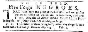 May 11 - Pennsylvania Journal Supplement Slavery 3