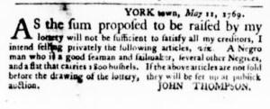 May 11 - Virginia Gazette Purdie and Dixon Slavery 3
