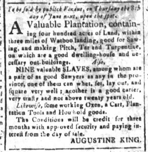 May 15 - South-Carolina and American General Gazette Slavery 6