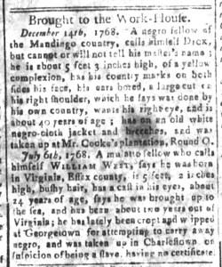 May 15 - South-Carolina and American General Gazette Slavery 9