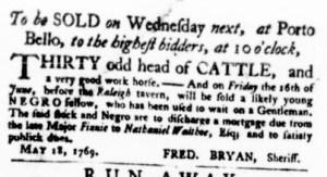 May 18 - Virginia Gazette Purdie and Dixon Slavery 2