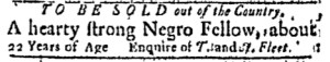 May 22 - Boston Evening-Post Slavery 2