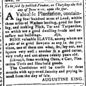 May 22 - South-Carolina and American General Gazette Slavery 4