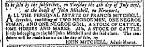 May 24 - Georgia Gazette Slavery 3