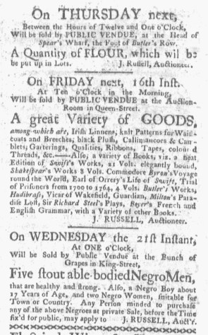 Jun 12 - Boston-Gazette Slavery 1