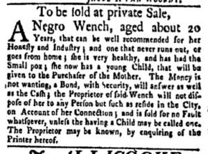 Jun 12 - New-York Gazette Weekly Mercury Slavery 4
