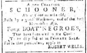 Jun 12 - South-Carolina and American General Gazette Slavery 5