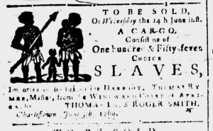 Jun 5 - South-Carolina and American General Gazette Slavery 1