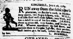 Aug 17 - Virginia Gazette Purdie and Dixon Slavery 6