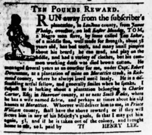 Aug 17 - Virginia Gazette Purdie and Dixon Slavery 8