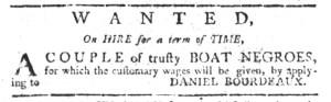 Jul 13 - South-Carolina Gazette Slavery 2