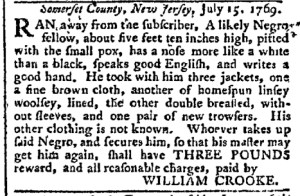 Jul 17 - Pennsylvania Chronicle Slavery 2