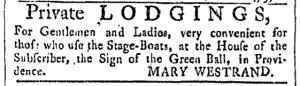Jul 22 - 7:22:1769 Providence Gazette
