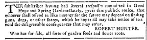Jul 26 - 7:26:1769 Georgia Gazette