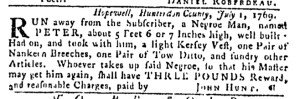 Jul 27 - Pennsylvania Gazette Slavery 6