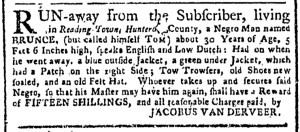 Jul 31 - New-York Gazette Weekly Post-Boy Slavery 1