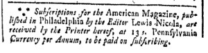 Jul 8 - 7:8:1769 Providence Gazette
