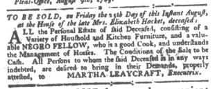 Aug 24 - South-Carolina Gazette Slavery 7