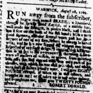 Aug 24 - Virginia Gazette Rind Slavery 6
