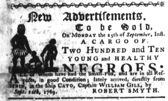 Sep 14 - South-Carolina Gazette Slavery 2