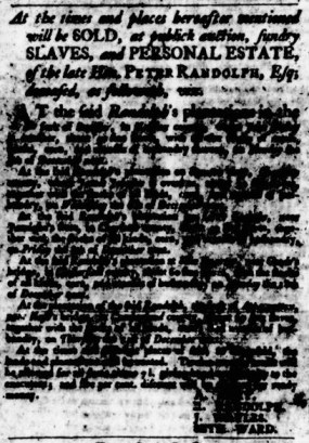 Sep 14 - Virginia Gazette Purdie and Dixon Slavery 3