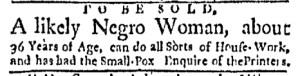 Sep 18 - Boston Evening-Post Slavery 3