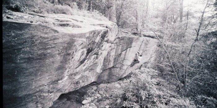 Grandmother Mountain Bouldering