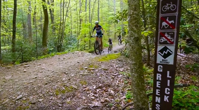 Green's Lick Trail At Bent…