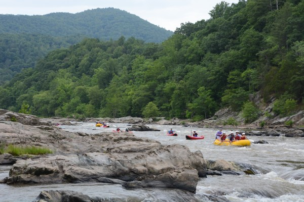 French Broad Whitewater Rafting