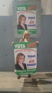 Milagros Bárcena - campaña 2015