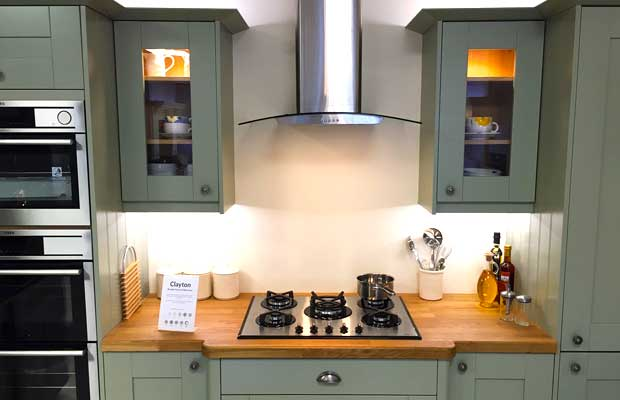 Do Your Kitchen Units Have Glazed Doors Available Diy Kitchens Advice