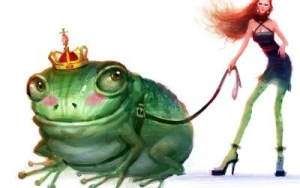 men who are toads are frog princes