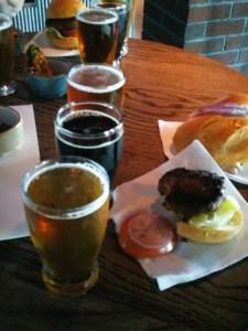 brew pub fare on the Escape
