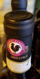 Gallo Nero, Black Rooster. super tuscan italian wine